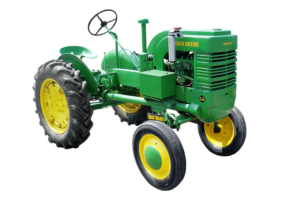 Information on all makes and models of farm tractors
